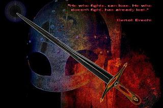 """Бертолт Брехт,""""Който се бори, може да загуби.Който не се бори, вече е загубил."""""""