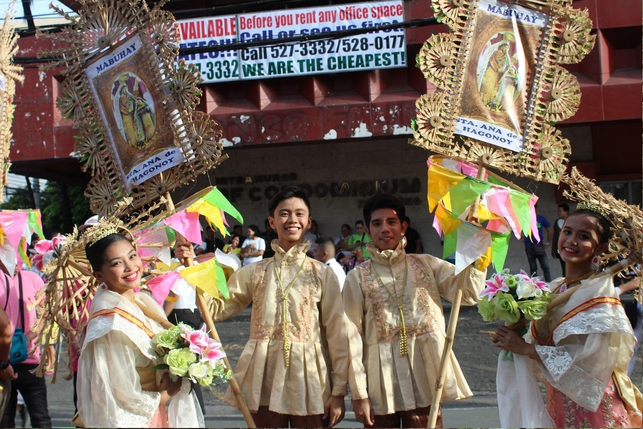 grand marian parade intramuros manila