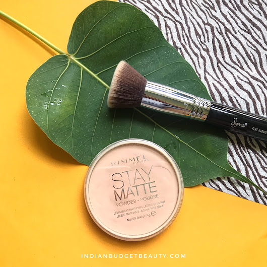 Rimmel London Stay Matte Pressed Powder (004 Sandstorm) Review