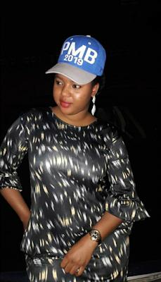Fati Shu'uma Sanye Da Kayan Campaign Na Buhari
