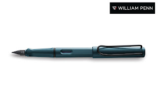 William Penn presents the LAMY Safari Petrol Special Edition Fountain Pen