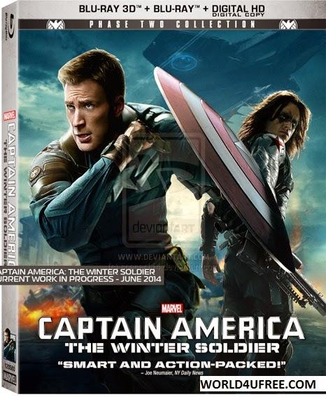 Captain America The Winter Soldier 2014 Dual Audio 350mb BluRay 480p ESub