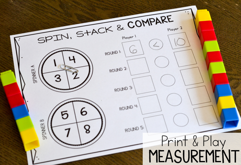 Trust image in printable measurement games