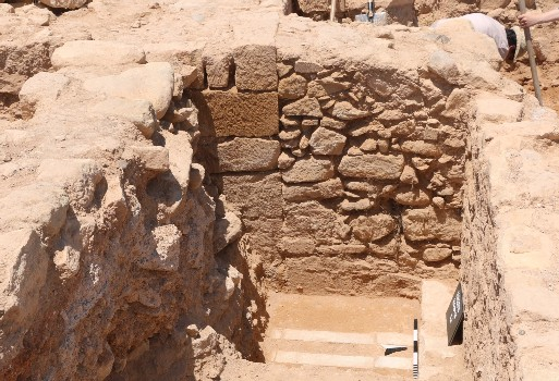 Excavations of the University of Cyprus at the citadel of ancient Paphos (Kouklia)