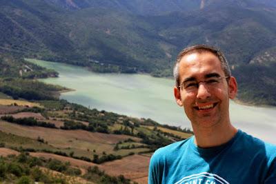 Embalse de Terradets en el Montsec desde Llimiana