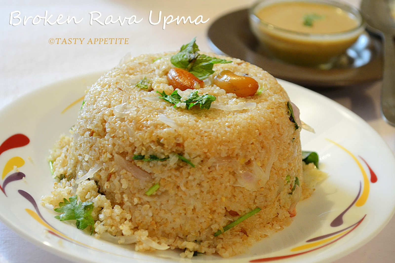 How to make Wheat Rava Upma / Godhuma Rava Upma / Broken