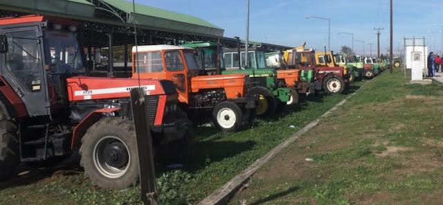 Παράσταση διαμαρτυρίας αγροτών στα γραφεία του ΟΠΕΚΕΠΕ