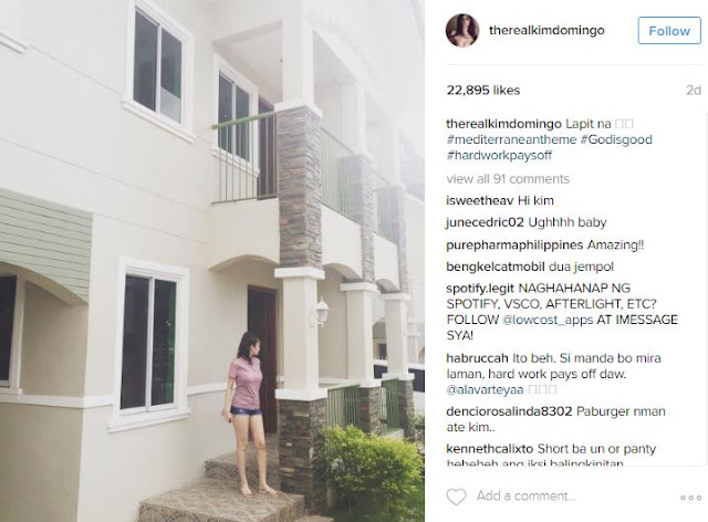 For The First Time: Take a Glimpse of Kim Domingo's New Mediterranean Style Home