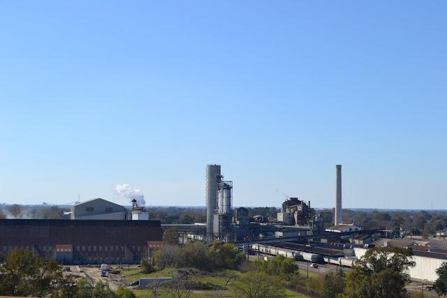 Сахарный завод в Луизиане