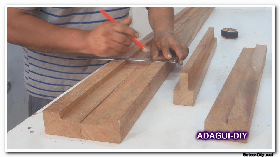Como hacer marco de madera para puertas contraplacadas - vídeo ...