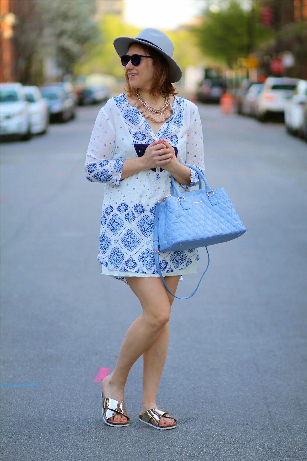 Hot Pink Style Vera Bradley Blue