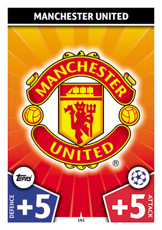 Champions League 17//18 Manchester United FC Paul Pogba Sticker 186