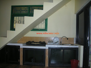 fasilitas memasak di villa ciater