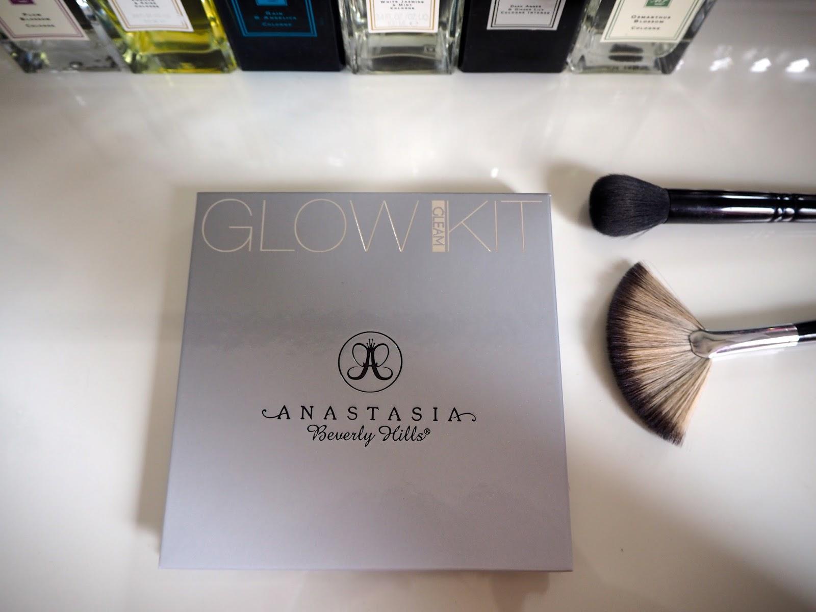 Anastasia Glow Kit in Gleam review