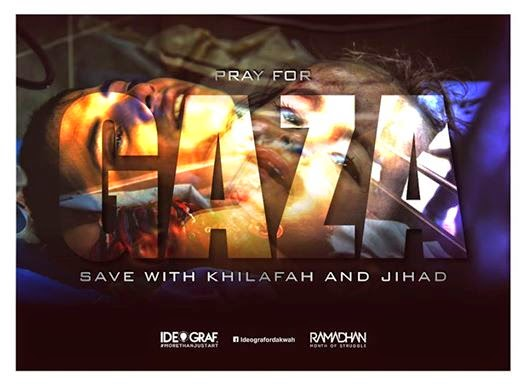 Pray For Gaza Save With Khilafah and Jihad