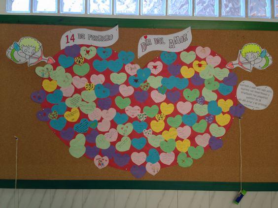 Classroom Ideas ~ Isabel pt al febrero día del amor y de la amistad