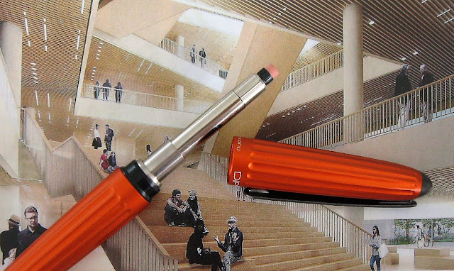 diplomat aero pencil eraser