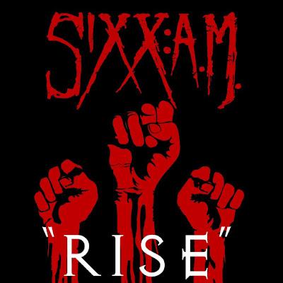 Sixx Am - Rise - single cover
