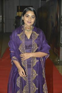Actress Nivetha Thomas Stills At 118 Movie Pre Release Event