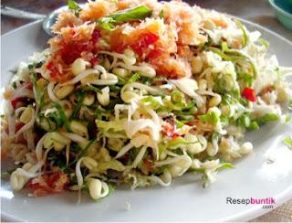 Resep cara membuat trancam, cara bikin trancam, makanan khas Jawa Timur (Jatim), trancam simpel, trancam mentimun, trancam khas Malang, trancam kemangi enak, trancam komplit