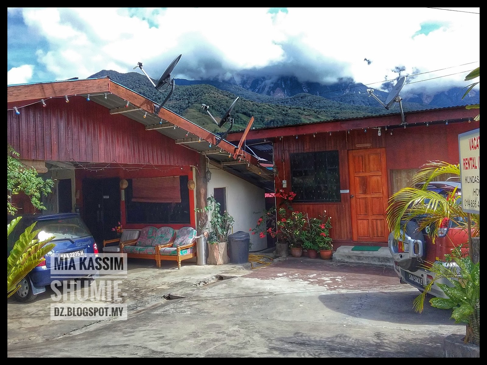 Rosewood home cottage kundasang mia memories of mine for Rosewood home