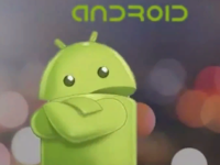 Android сложил руки