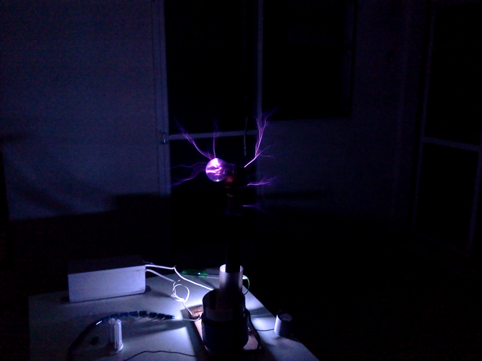 Electgpl Electrónica Bobina Tesla Tesla Coil