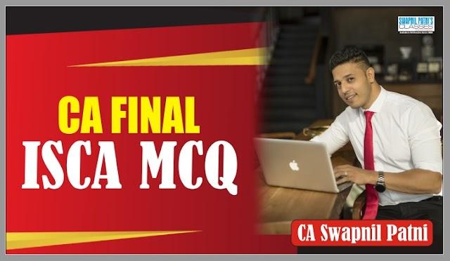 CA Final ISCA MCQ by Swapnil Patni Sir