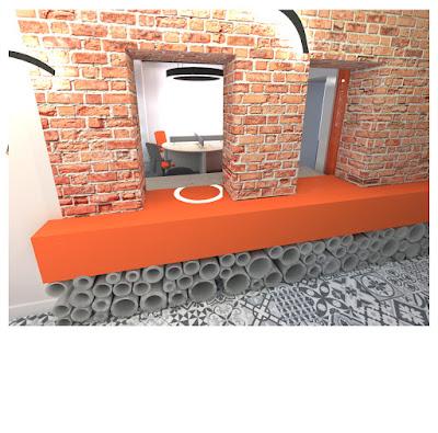 Projekt biura w kamienicy w Chorzowie