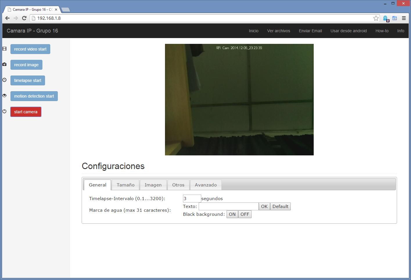 Configurar Webdav en Raspberry Pi | Tarea COS115 - Cámara IP