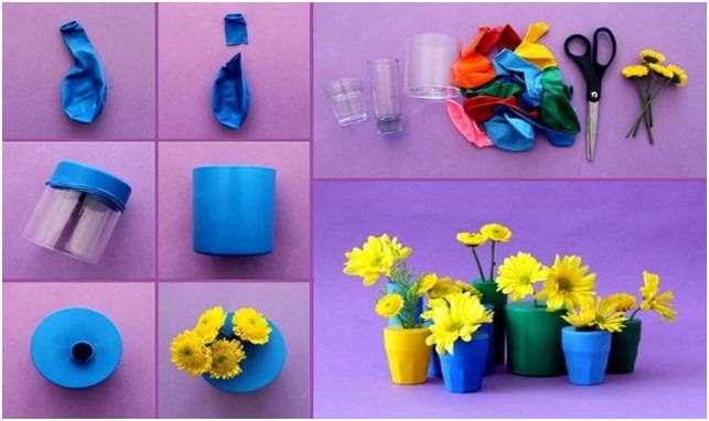 Kendi ellerinizle şişeden vazo: basit ve güzel