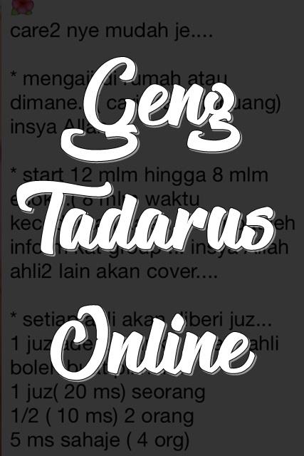 Geng Tadarus Online
