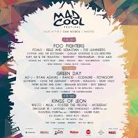 Confirmaciones Festival Mad Cool 2017