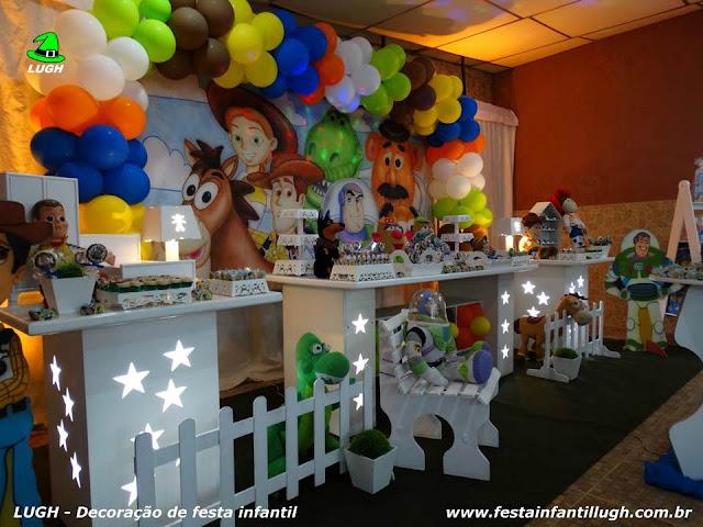 Decoração tema infantil Toy Story