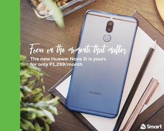 Huawei Nova 2i now Available on Smart Postpaid Plan 799