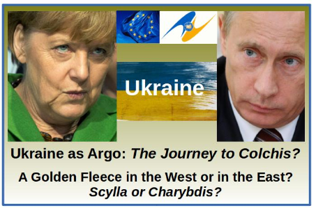 Ukraine Journey to Colchis - East or West - EU or Customs Union