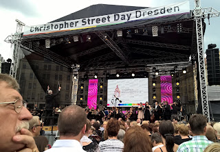 Beethoven's Ninth Symphony performed as part of the Dresden Music Festival's Klingende Stadt