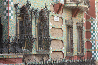 Casa Vicens is a modernist house designed by Gaudí