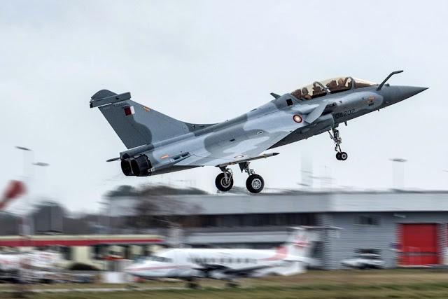 Dassault delivers first Rafale Qatar