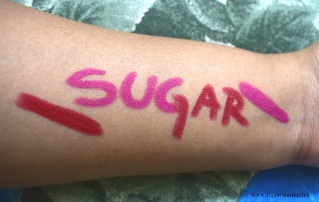Sugar Cosmetics Matte As Hell Crayon Lipsticks (Mary Poppins and Scarlett O'Hara) | Review and Swatches