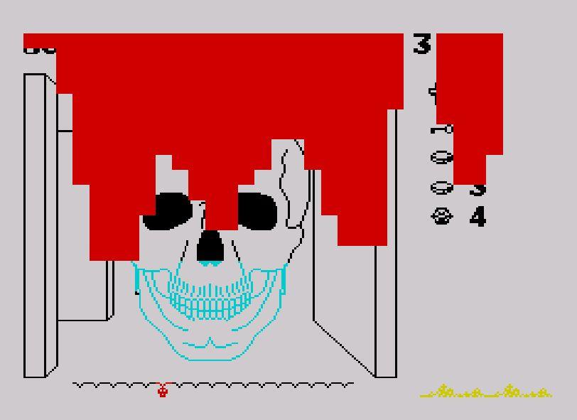 Deadpan Flook's Gruesome Games!: Skull (ZX Spectrum