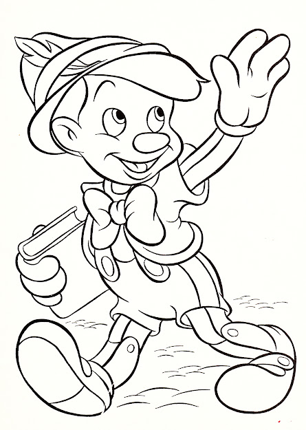 Walt Disney Coloring Pages Pinocchio Walt Disney Characters Photo Inside Disney  Character Coloring Pages