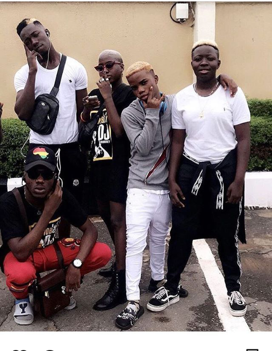 Olamide Shows Off His Latest YBNL Squad In New Photo