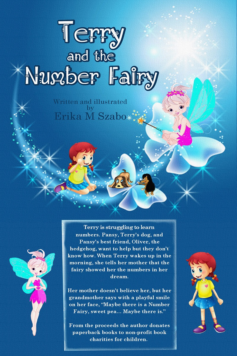 Terry and the Number Fairy - Children's Book