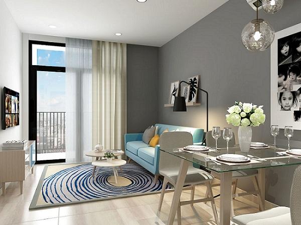 Hình ảnh nhà mẫu căn hộ Hà Đô Centrosa Garden quận 10