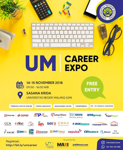 Job Fair Malang Terbaru (GRATIS)