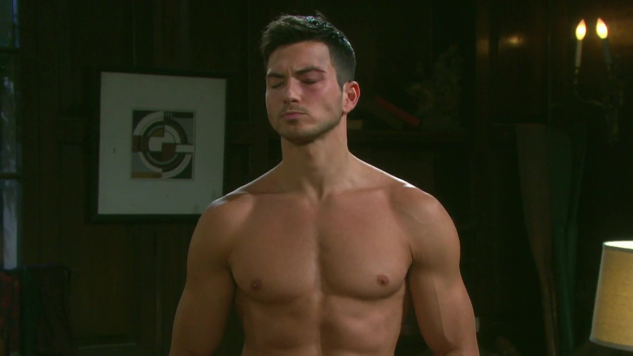 ausCAPS: Robert Scott Wilson shirtless in Days Of Our Lives