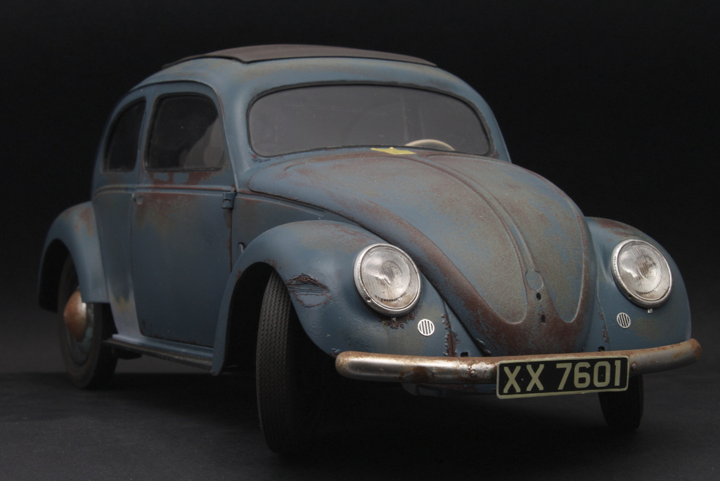 Master Models: VW Kafer 1950- headlights, and horn grilles