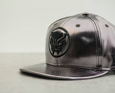 San Diego Comic-Con 2017 Exclusive Black Panther Snapback Hats by BAIT x New Era Cap x Marvel