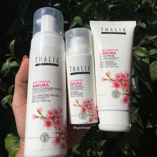 Thalia Sakura Age Defense Yaşlanma Karşıtı Bakım Serisi Yüz Ürünleri